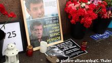 Russland Gedenken an Boris Nemzow