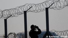 Ungarn - Grenzzaun gegen Flüchtlinge und Migranten