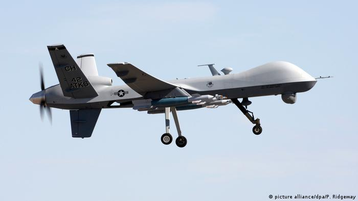 A US Drone (picture alliance/dpa/P. Ridgeway)