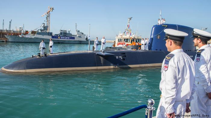 Deutschland Israel U-Boot Dolphin Submarine (Getty Images/AFP/J. Guez)