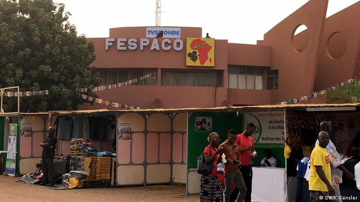 One of the venues hosting the Fespaco festival in Ouagadougou