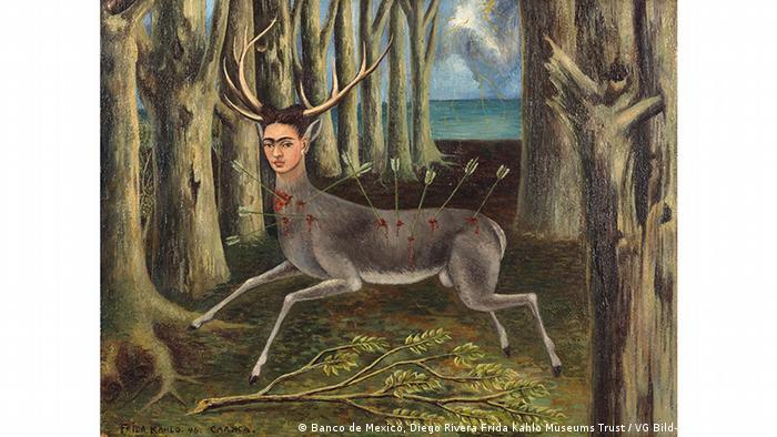 Фрида Кало. Маленький олень (1946)