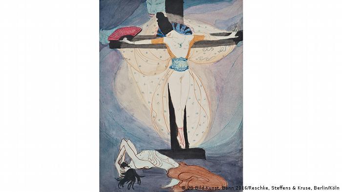 Жанна Маммен. Женщина на кресте (1908-1914)