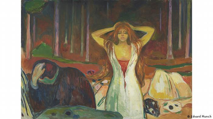 Эдвард Мунк. Пепел (1925)