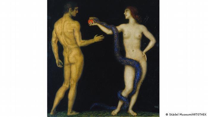 Франц фон Штук. Адам и Ева (1920-1926)