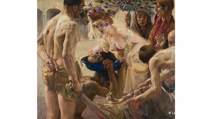 Ловис Коринт. Саломея II (1899/1900)