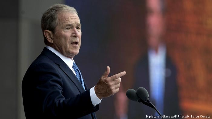 George W Bush (picture alliance/AP Photo/M.Balce Ceneta)