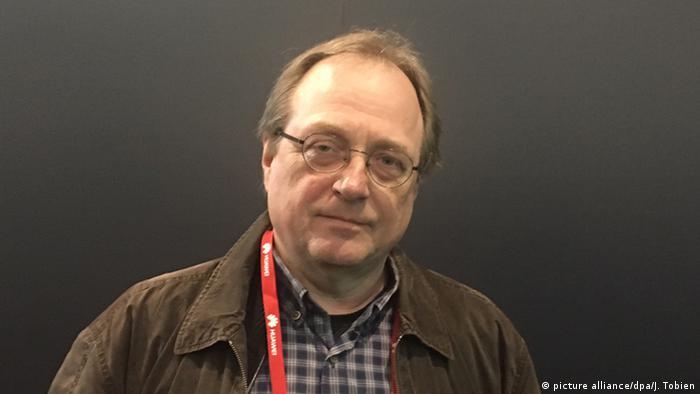 Deutschland Manfred Santen Elektronik-Experte von Greenpeace