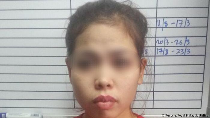 Verdächtige Frau im Fall Kim Jong Nam (Reuters/Royal Malaysia Police)