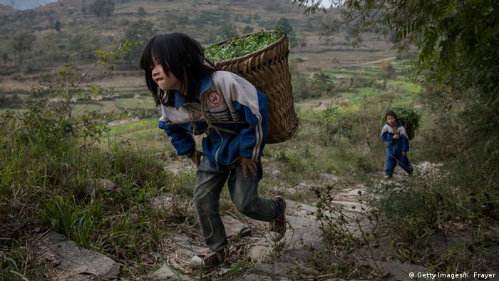 China verlassene Kinder aus Anshun (Getty Images/K. Frayer)