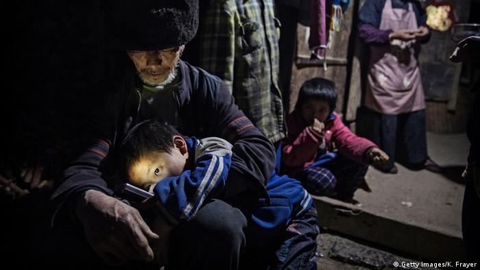 China verlassene Kinder aus Anshun