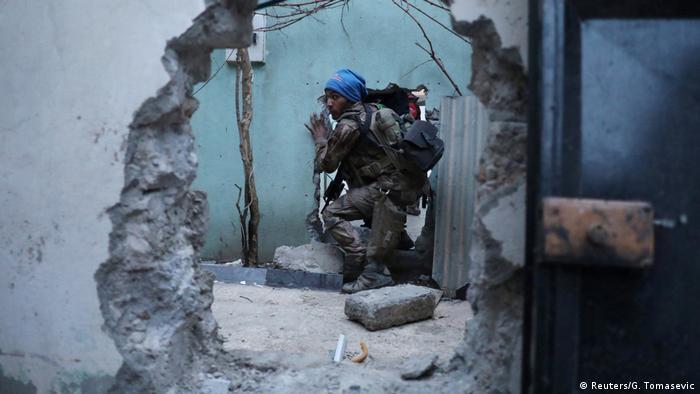 Irak Kämpfe in Mossul (Reuters/G. Tomasevic)