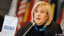 Februar 2017 Wien Dunja Mijatović, OSCE Beauftragte für Medienfreiheit