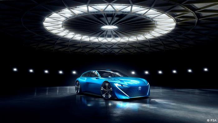 Peugeot Instinct, o carro do futuro da Peogeut