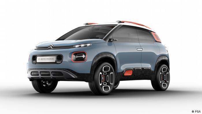 SUV Citroen Aircross Concept