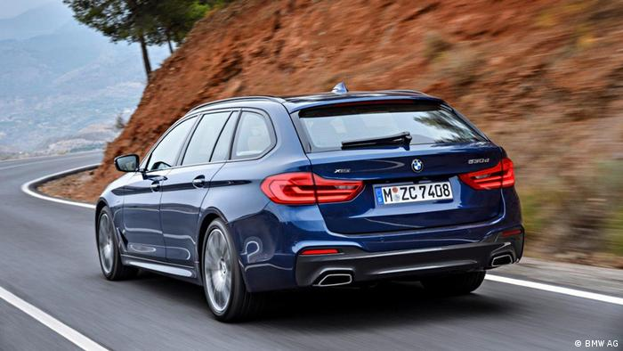 O novo carro BMW 5 Touring