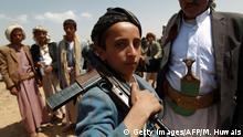 Symbolbild Kindersoldaten im Jemen
