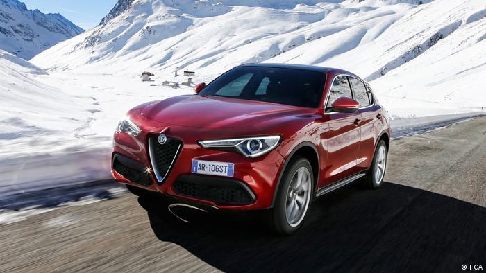 Modelo Stelvio da Alfa Romeo