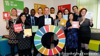 Teamfoto UN SDG Campaign