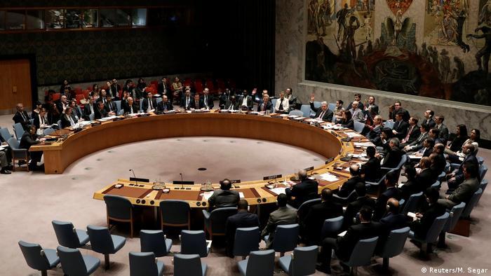 UN Sicherheitsrat in New York