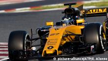 Spanien | Formel 1 2017 - Testfahrten Barcelona (picture-alliance/ATP/E. Alonso)
