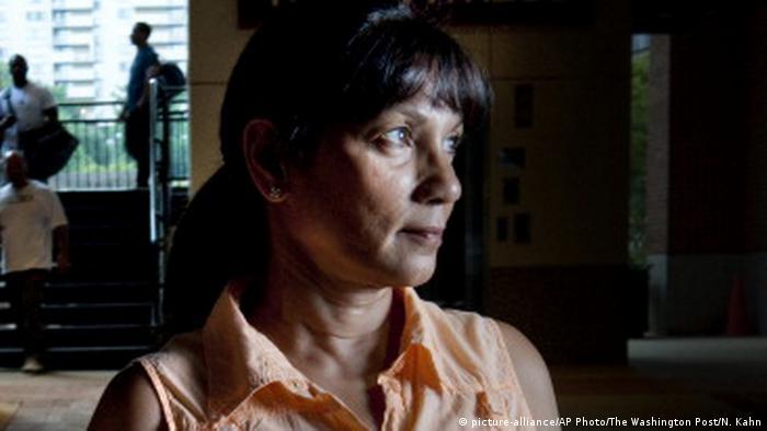 USA Sabrina de Sousa in Pentagon Row (picture-alliance/AP Photo/The Washington Post/N. Kahn)