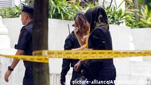 Malaysia Mordverdächtige in Sepang
