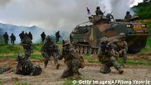 Südkorea Gemeinsame Militärübung mit der USA