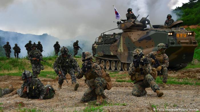Учения с участием США и Южной Кореи, 2016 год