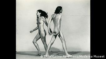 Abramović e Ulay fizeram várias performances nus