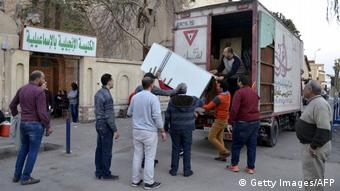 Ägypten Kopten fliehen nach Angriffe auf der Sinai Halbinsel