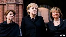 Merkel bei Gedenkfeier zum 70. Jahrestag der Pogromnacht
