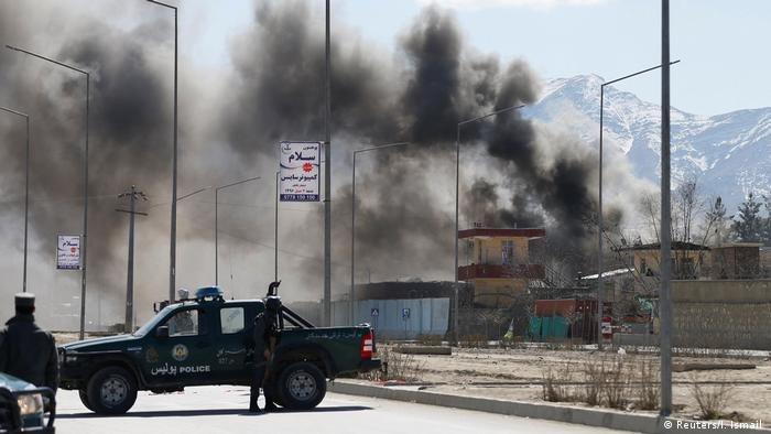Afghanistan Anschlag in Kabul (Reuters/I. Ismail )