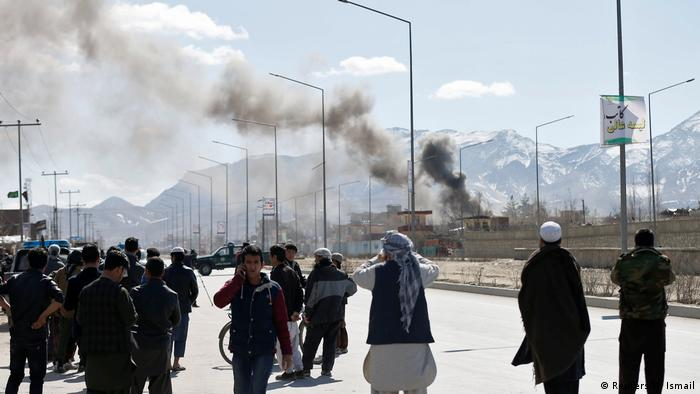 Afghanistan Anschlag in Kabul (Reuters/M. Ismail)