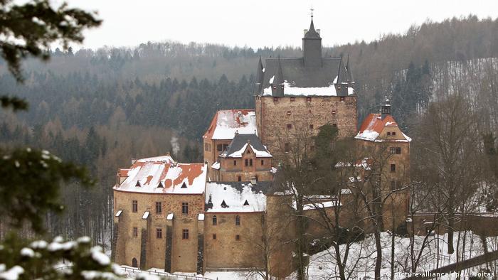 Erzgebirge - Burg Kriebstein (picture-alliance/dpa/J. Woitas)