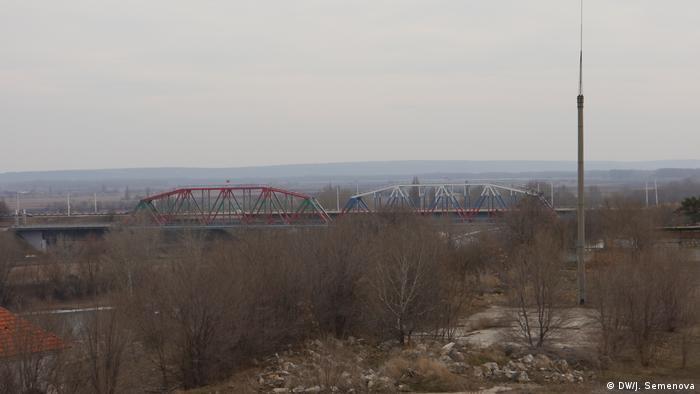Мост между Молдавией и непризнанным Приднестровьем