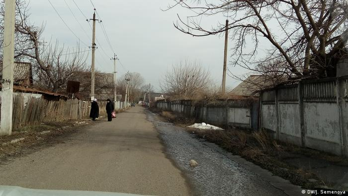 Улица на границе