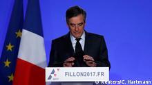 Frankreich Ansprache Francois Fillon