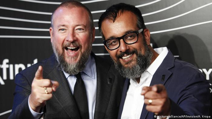 Shane Smith and Suurosh Alvi (picture-alliance/AP/Invision/A. Kropa)