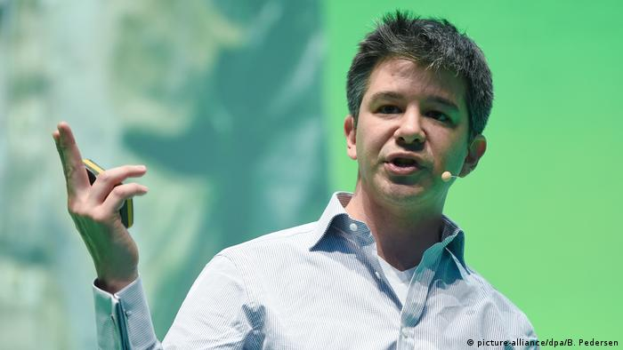 Uber CEO Travis Kalanick (picture-alliance/dpa/B. Pedersen)