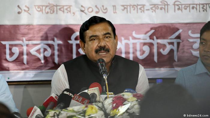 - Minister Shahjahan Khan Bangladesch - Landesweiter Streik der Bus- und LKW Fahrer (bdnews24.com)