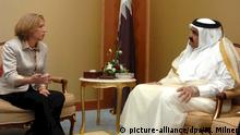Katar Doha Treffen mit Israel