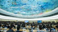 Schweiz Genf UN Menschenrechtsrat