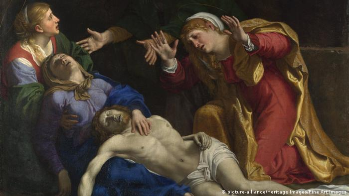 Painting: The Dead Christ Mourned 1604
