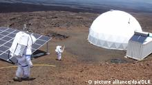 USA Mars Simulation auf Hawaii
