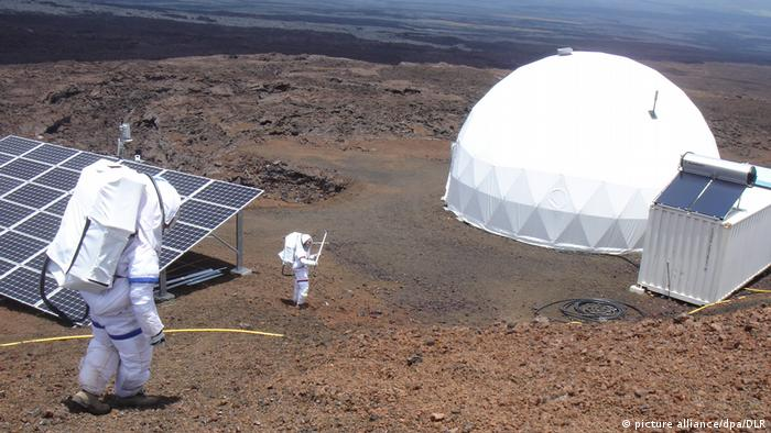 USA Mars Simulation auf Hawaii (picture alliance/dpa/DLR)