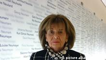 Deutschland Aktion «We Remember» - Charlotte Knobloch (picture alliance/dpa/WJC)