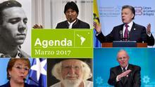 Agenda Marzo 2017 spanisch