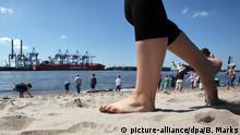 Deutschland Hamburg - Europas schönste Stadtstrände