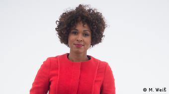 Jana Pareigis im Dokumentarfilm Afro.Deutschland